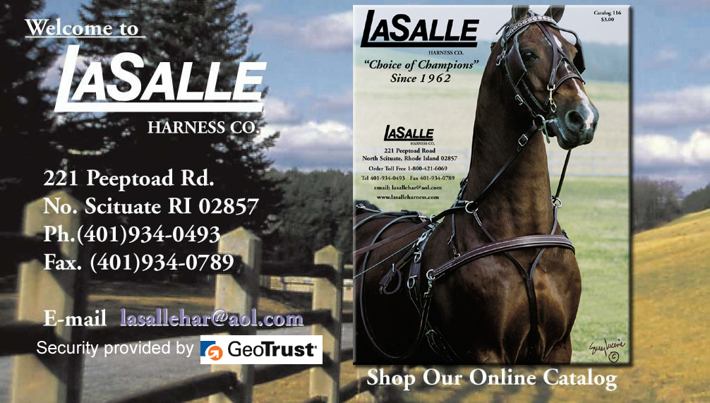 Welcome to LaSalle Harness Co.